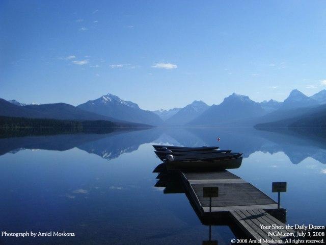 Lake MacDonald, Glacier National Park, Montana